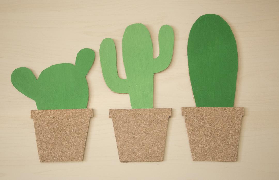 peindre les cactus