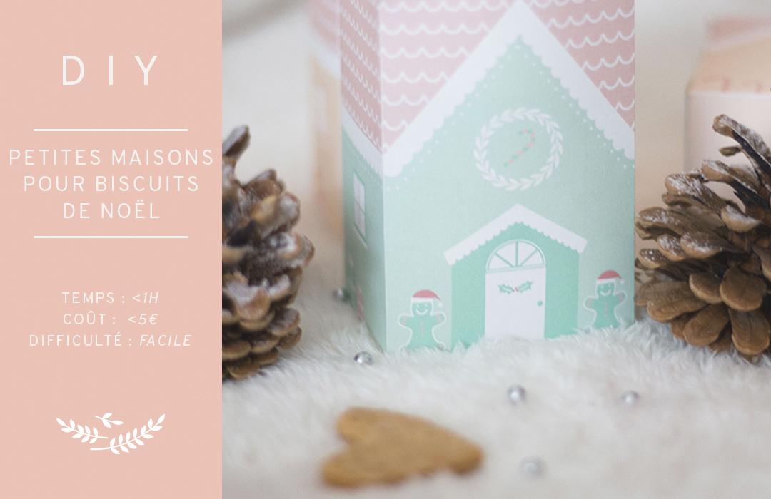 Petites Maisons Pour Biscuits De Noel Les Brindilles Inspirations