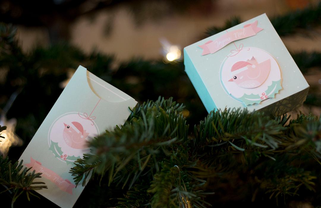 boite cadeau Noël