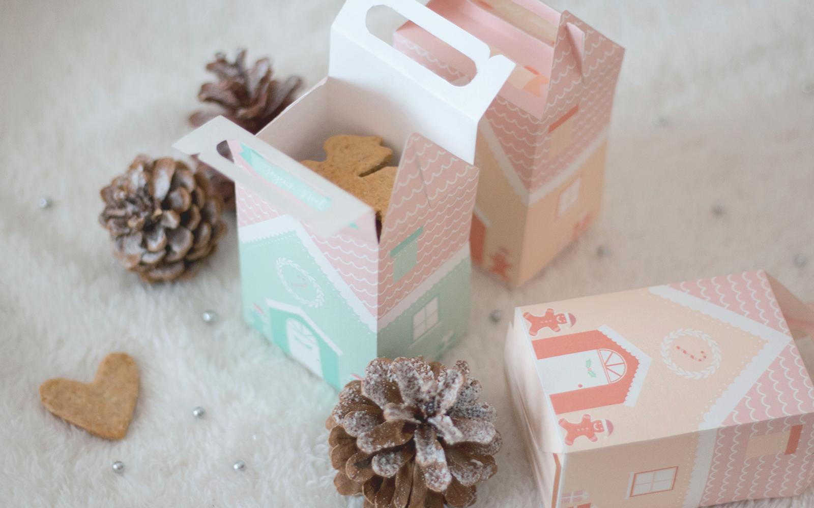 Petites Maisons Pour Biscuits De Noël Les Brindilles