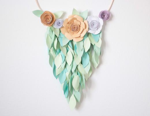 décoration-végétale papier