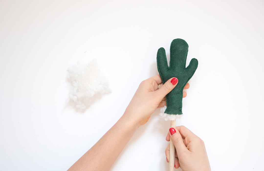 diy cactus en feutre