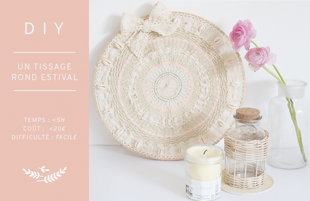 DIY- tissage rond