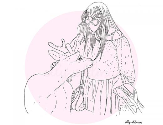 illustrations Elly Oldman