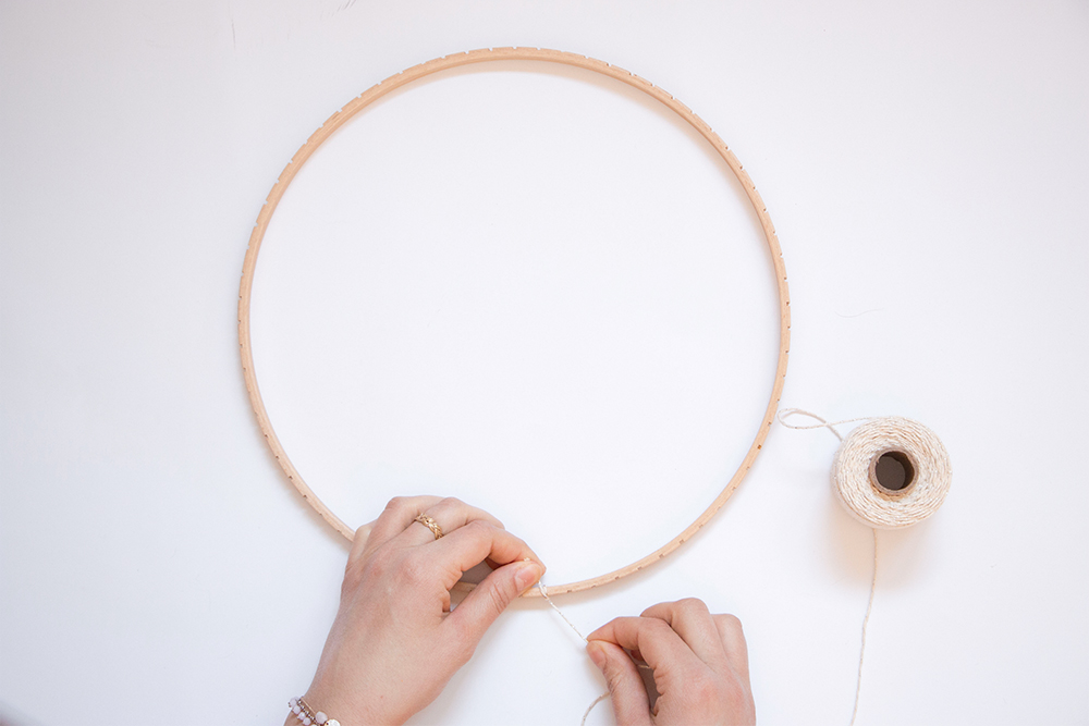 DIY- tissage rond
