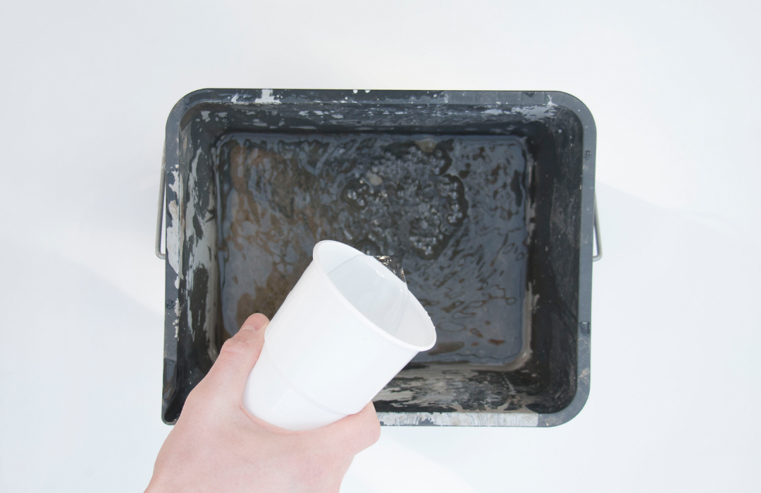 soliflore en béton et verre